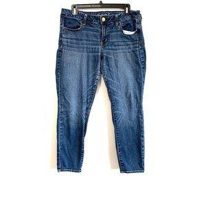 AEO   Medium Wash Jeggings 14 Short